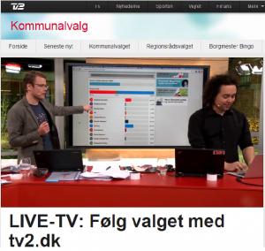 Magnus og Thomas i tv2.dk-studet