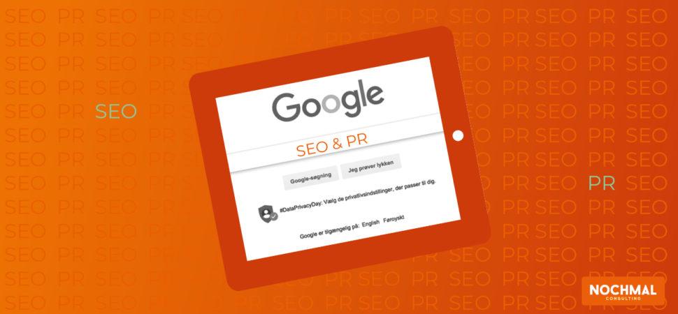 Nyt Google Patent: SEO uden links - PR er relevant igen!