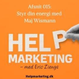 HM015: Mere energi på jobbet med Maj Wismann