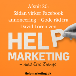 Help Marketing David Lorentzen Facebook annoncering