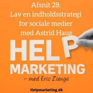 Astrid Haug Sig du kan li mig Help Marketing sociale medier indholdsstrategi