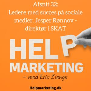 Help Marketing ledere på sociale medier jesper rønnov skat