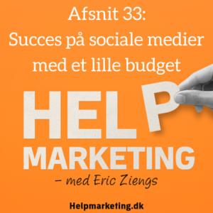 Help Marketing sociale medier med et lille budget maria holst mauritzen