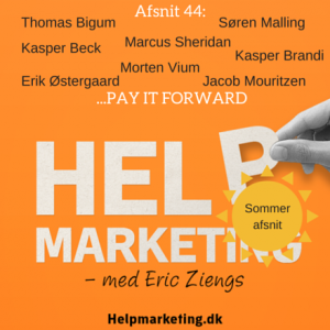 Help Marketing pay it forward