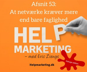 Help Marketing refuga at netværke kræver mere end faglighed nikolaj astrup madsen