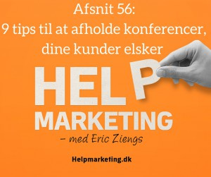 Help Marketing Ib Potter podcast konference marketing camp