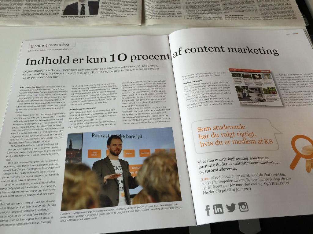 content marketing ekspert eric ziengs