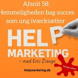 HM058: Hemmeligheden bag succes som ung iværksætter