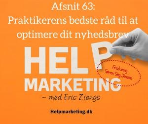 Help Marketing Søren Sieg Jensen optimer dit nyhedsbrev