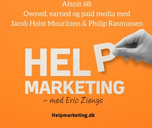 Help marketing owned earned paid media