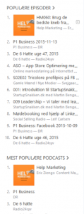 help marketing populær i itunes