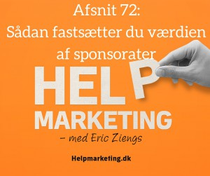 Help marketing sponsorater lasse glenstrup