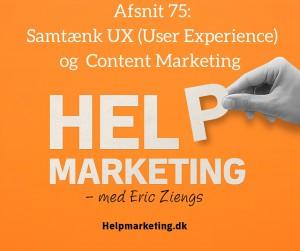 Help Marketing UX og content marketing