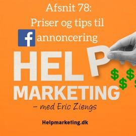 HM78: Priser og tips til Facebook annoncering