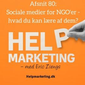 HM80: Sociale medier for NGO'er – og hvad du kan lære!