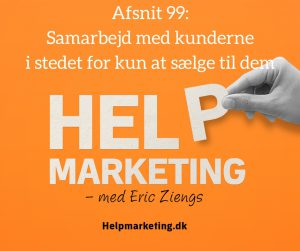 Help marketing samarbejd med kunderne peter hesseldahl