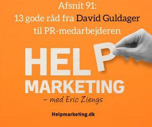 david guldager public relations journalist help marketing