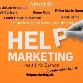 HM96: SEO, PR, foto, Adwords, social salg, UX og NGO'er på social
