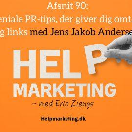 HM90: Geniale PR-tips, der giver dig omtale og links!