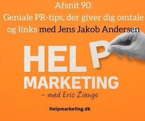 jens jakob andersen PR omtale links help marketing