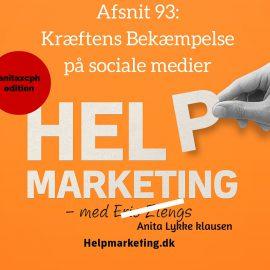 HM93: Kræftens Bekæmpelse på sociale medier