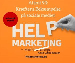 kræftens bekæmpelse på sociale medier lars østergaard help marketing