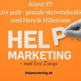 HM97: Skriv godt – geniale skriveteknikker med Henrik Hillestrøm