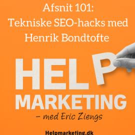 HM101: Tekniske SEO-hacks med Henrik Bondtofte