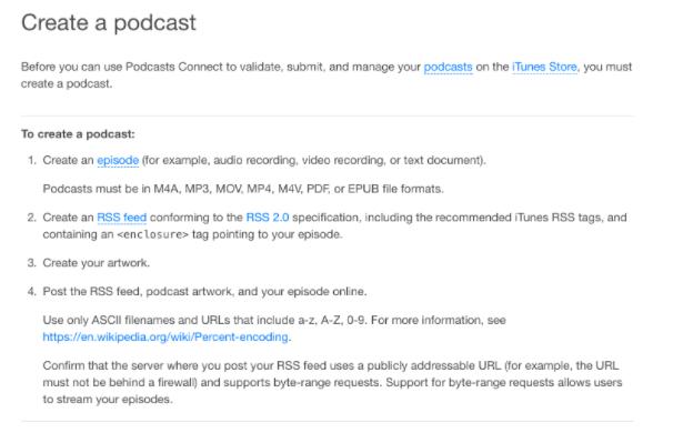 podcasting: sådan hoster du filer og kommer på itunes