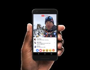 FAcebook live på android help marketing