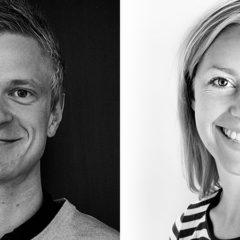 Mikkel Rossing og Stine Aagaard
