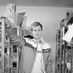Daniel Johannesen starte en webshop